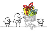shopping cart & gifts