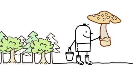 mushroom & forest