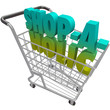 Shop-a-Holic-Word-Shopping Cart-Addicted-to-Buying-Spending-Mone