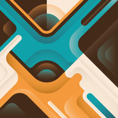 Futuristic graphic with abstraction.