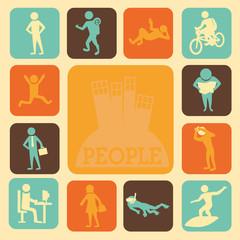 activities of people