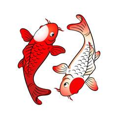 Fish yin yang