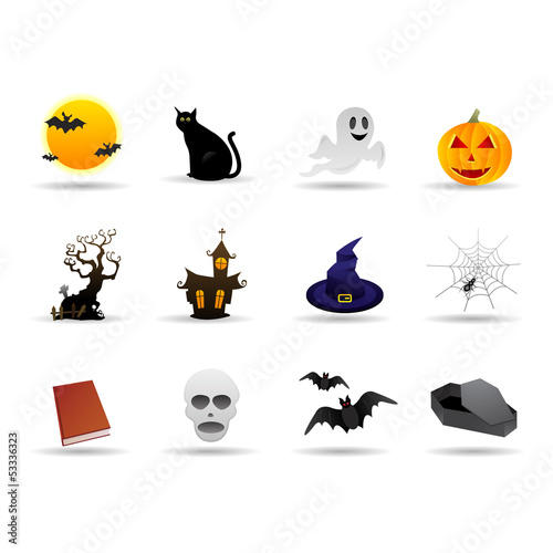 Halloween friendly vector icon