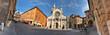 Modena, piazza Duomo a 360 gradi