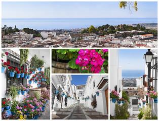 Mijas pueblo, Costa del Sol, Andalucía.