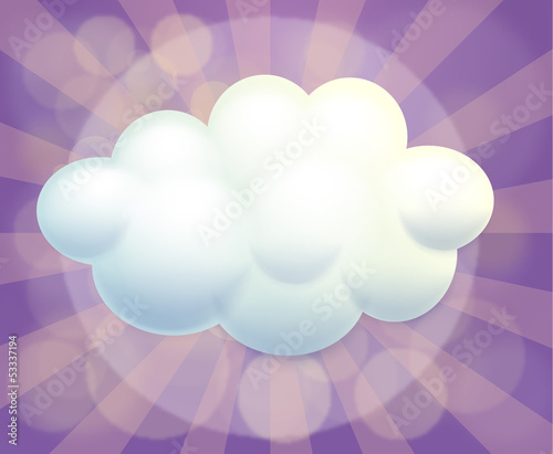 An empty cloud template