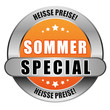 5 Star Button orange SOMMER SECIAL HP HP