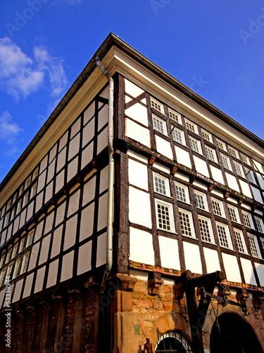 Historische Rathaus anoo 1576 HATTINGEN/RUHR