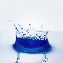 beautiful splash of water