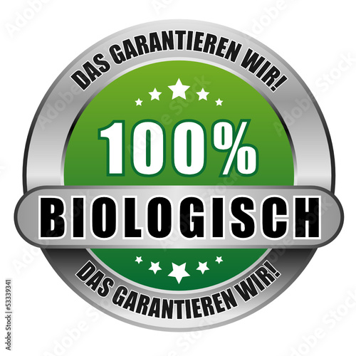 5 Star Button blau 100% BIOLOGISCH DGW DGW