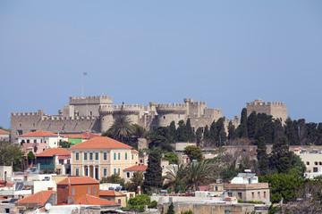 Blick über die Altstadt von Rhodos, Griechenland