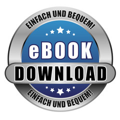 5 Star Button blau EBOOK DOWNLOAD EUB EUB