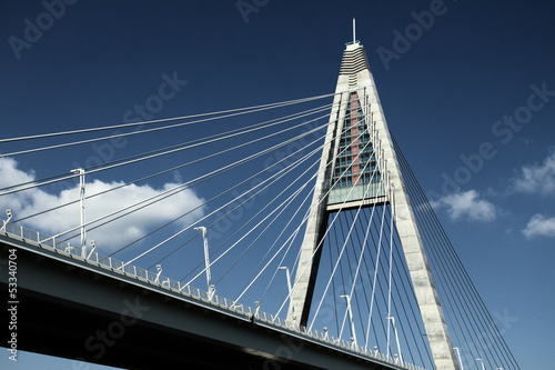 Detail of bridge (Hungary)