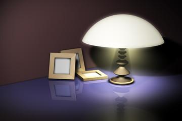 Galerie Rahmen Lampe