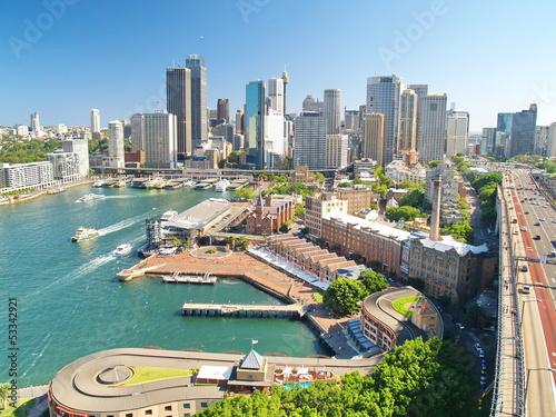 Poster Sydney view