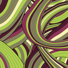 Modern striped background. Vector illustration