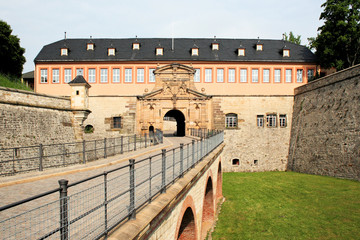 Zufahrtsbrücke Zitadelle Petersberg