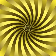 Fond spirale or