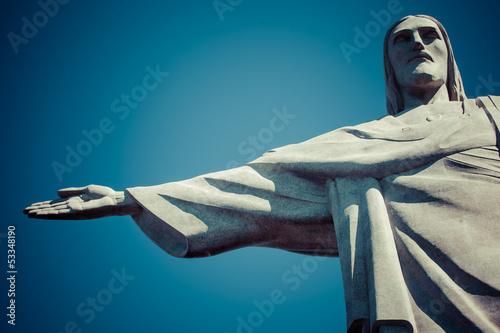 Christ the Redeemer statue in Rio de Janeiro in Brazil - 53348190