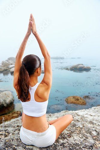 yoga lifestyle woman