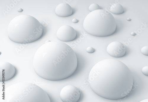 3D geometric abstract background