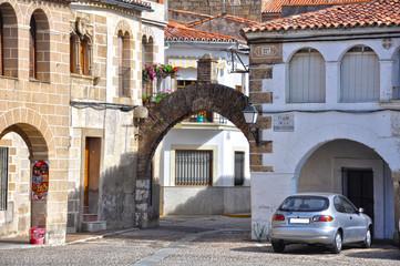 Garrovillas de Alconétar, Cáceres, arco de la calle san Pedro