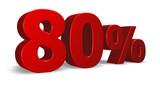 eighty per cent