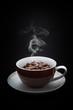 Kaffeetasse-Bohnenkaffee-Becher