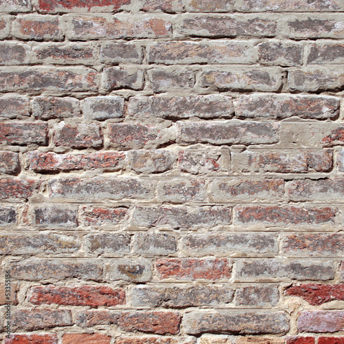 Vintage old brick wall