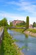 Canale Villoresi in estate