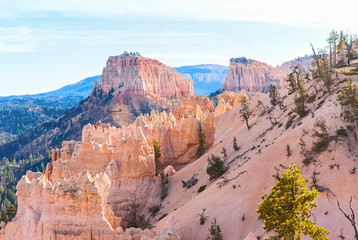Farview Point at Bryce Canyon