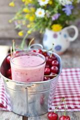 cherry smoothy