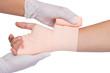 Wrapping bandage