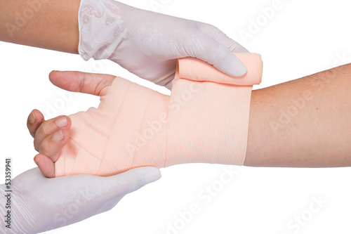 Wrapping bandage