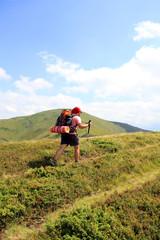 Summer hiking the Carpathians.