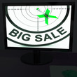 Big Sale On Monitor Shows Big Promotions