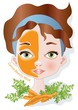 carrot beauty mask