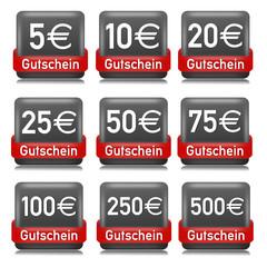 Gutschei Button Schwarz  #130616-svg03