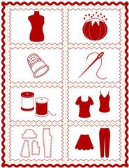 Sewing, Tailoring, Dressmaking, Fashion Model, rick rack frame