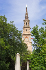 St Philip Church in Charleston