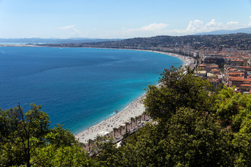 Nice - France , Cote d Azur, Panorama View