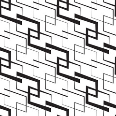 Monochrome Geometric Wallpaper