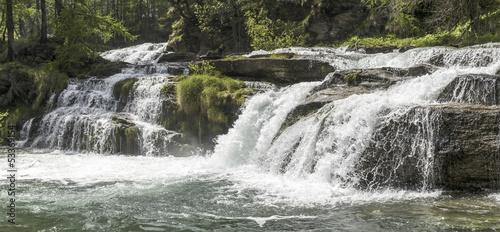 Fototapeten,piemonte,wasserfall,fluß,waterscape