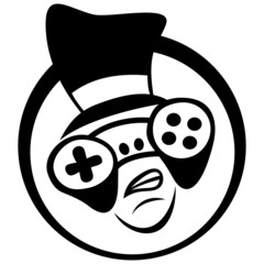 Gamer icon.