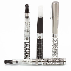 E-cigarette battery collection