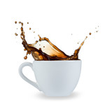 coffee splash