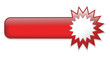 Red Web Button (stamp badge icon symbol blank template vector)