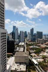 View over Brickell Miami