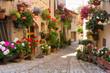 Vicolo con fiori, Spello - 53374967