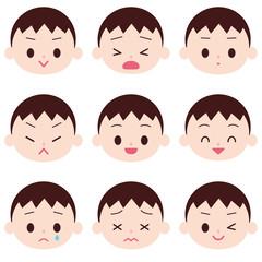 小さい男の子 感情表現
